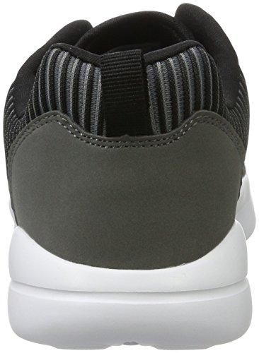 Kappa Unisex Adulto Streak Sneaker Grigio (1611 Grigio / Nero)