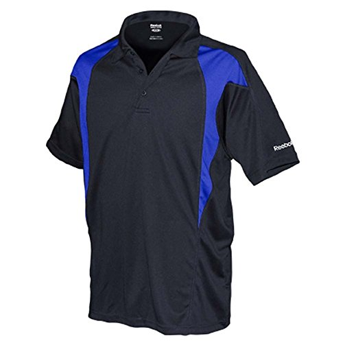 REEBOK GOLF NEW Mens Size ColorBlock Dri-fit Sport t Shirts 2X 3X 4X 5X POLO Royal XL…