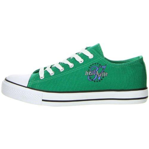 Schuhe-Trentasette Damen Sneaker Low-Cut grün 41