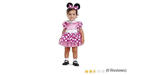 Minnie Mouse Traje del Bebá12-18 Meses: Amazon.es: Juguetes y juegos
