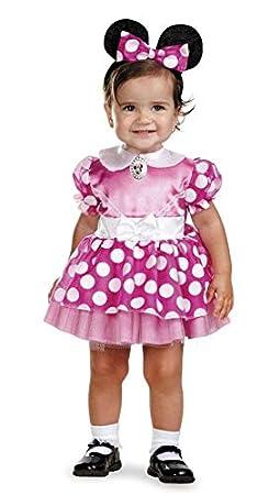 Minnie Mouse traje del bebé 12-18 meses: Amazon.es: Juguetes y juegos
