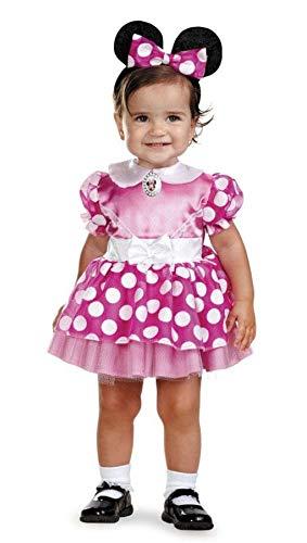 Minnie Mouse traje del bebé 12-18 meses: Amazon.es: Juguetes ...