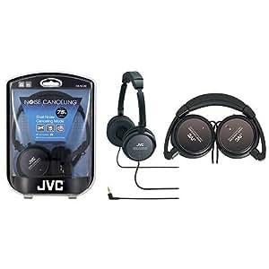 JVC HANC80 Noise-Cancelling Headphones - Black