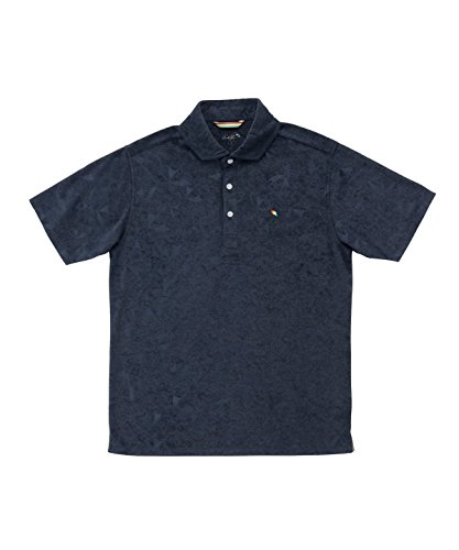 アーノルドパーマー メンズ ゴルフ ポロシャツ 半袖 エンボスPT半袖ポロ AP220101H09 NV O
