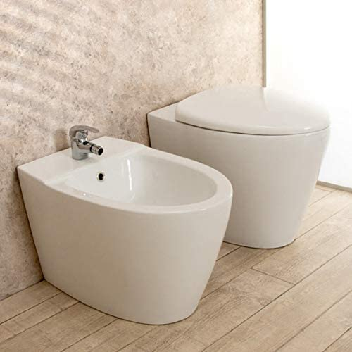 One Rak cache-pot frizionato Sanitaires Bain Pot WC WC suspendu avec bidet