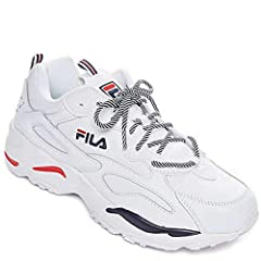 The Men's FILA Ray Tracer Casual Shoes are a must-have. Attract only the best attention in these chunky throwback sneakers that are as comfortable as they are cool.