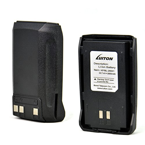 LUITON Battery 2800mAh 7.4V with Three Charge Terminal for L