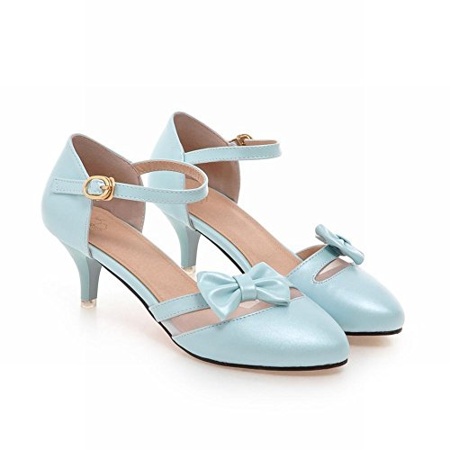 Upper Blu Jane Mary Ladies heel Bows Cute Kitten Mee Scarpe Shoes xw0RHnqw6v