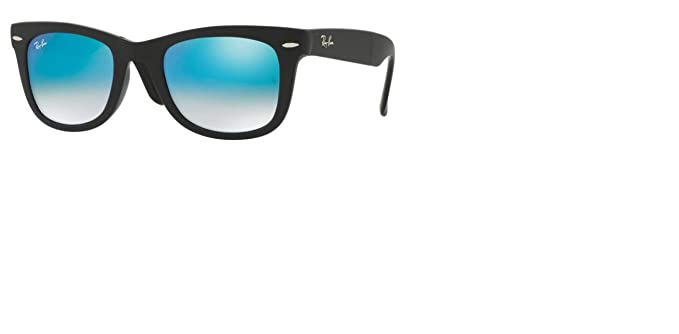 215bce96dc Image Unavailable. Image not available for. Color  Ray-Ban RB4105 60694O Wayfarer  Folding Black Frame   Mirror Gradient ...