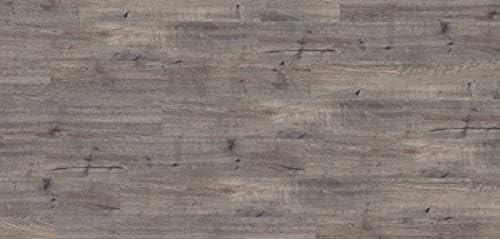Klick Vinylboden Vinyl PVC Bodenbelag I Wasserfest I Landhausdiele Eiche dunkelgrau I 9 Dielen im Paket = 2,009 m/²
