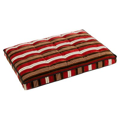 Luxury Crate Mattress Dog Bed Size: Extra Large (42'' L x 28'' W), Color: Daydream by Bowsers