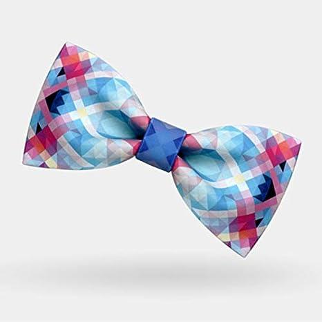 OYWNF Fantasía Geométrica Imprimir Corbatas Personalidad Masculina ...