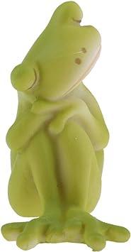 FLAMEER Estatuas de Esculturas Miniaturas de Rana Escultura ...