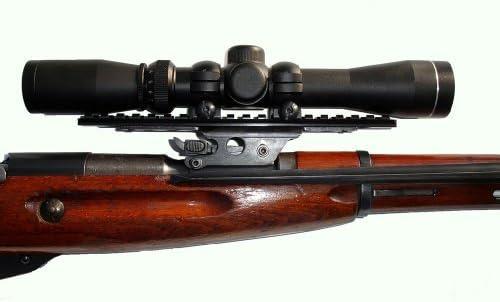 BE5500 BERING OPTICS Russian 3.5x20 PU Scope w//Solid Steel Mosin-Nagant Rifle Mount