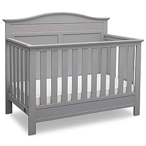 Serta Barrett 4-in-1 Convertible Baby Crib, Grey