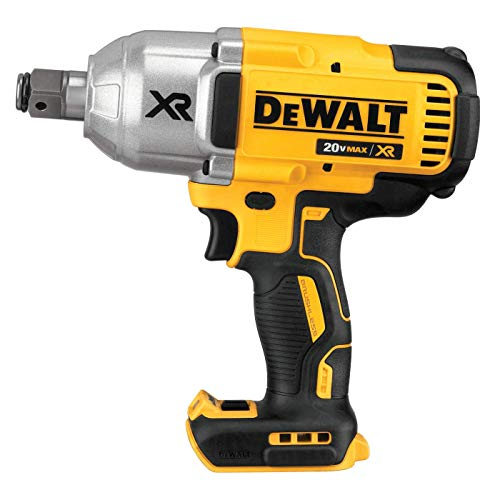 DEWALT 20V MAX XR Cordless Impact Wrench with Hog Ring Pin Anvil, 1/2-Inch , Tool Only (DCF897B)