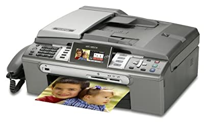 Brother MFC-685cw Color Inkjet Multi-Function Center with Wireless Network Interface