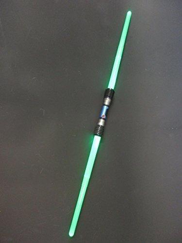 planet rangers Extending Double Ended Laser light sword/saber LED light up...