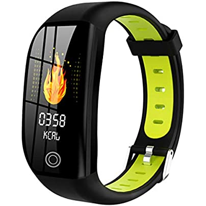 Youdong Smart Watch Sports Fitness Calorie Wristband Wear Wristbands IP68 Waterproof Watch Multifunction Heart Rate Monitoring Step Counting Distance Calories Early Warning Blood Pressure Sleep Mode Estimated Price £17.82 -
