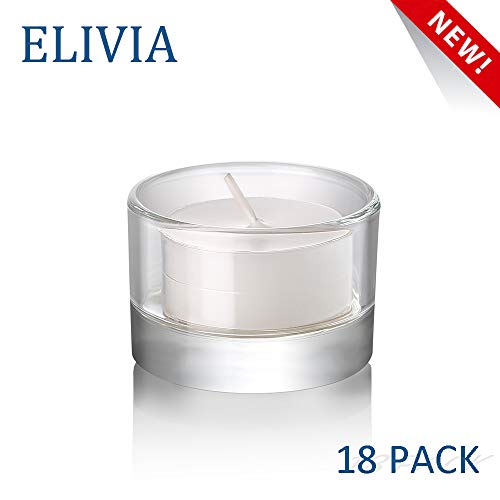 Elivia Clear Tealight Candle