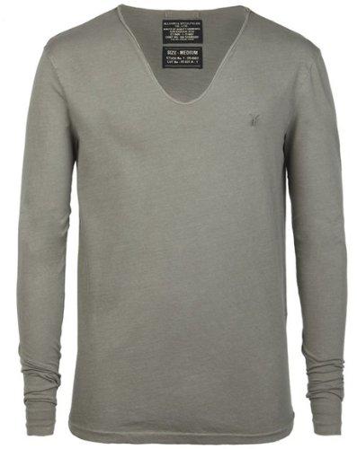 d30f2b8c9af7 All Saints Black Mens 'Tonic Scoop' Long Sleeve Tshirt - Medium Size:  Amazon.co.uk: Shoes & Bags