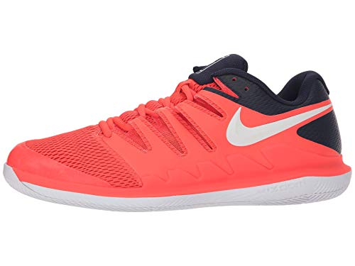 Shoes Blackened Bright Men's NIKE Zoom White Tennis Vapor Crimson Blue X w6fzpqPTU