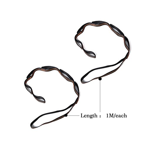 seveni Daisy Chain Extensions Straps Yoga Extender Strap Rope for Aerial Yoga Hammock Swing Set of 2pcs
