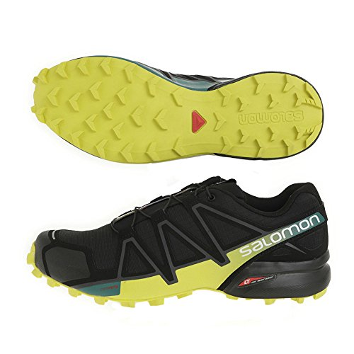 Salomon Men's Speedcross 4 Trail Running Shoes Black 4gbg9m