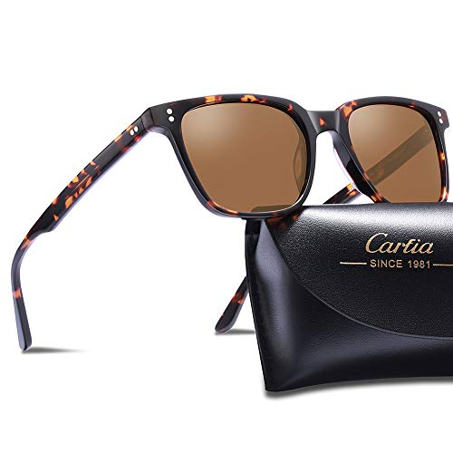 05b79d5e3f0 Carfia Chic Retro Polarized Sunglasses for Women UV400 Protection Driving  Outdoor Eyewear - Buy Online in Oman.