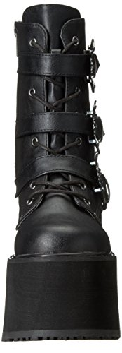 Demonia Femmes Swing-103 Bottine Noir Vegan Cuir
