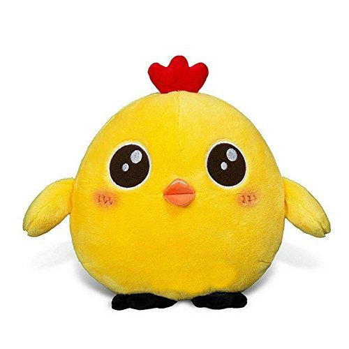 [YuanShiming Yellow Chick/Chicken Baby Stuffed Animal Toy - Kids Emoji Plush Toys Pillow Cushion Plush Doll Toys Valentine Gift Graduate Gift Fiesta Toys for Girlfriend Children (20cm, A)] (Marlon Brando Costumes)