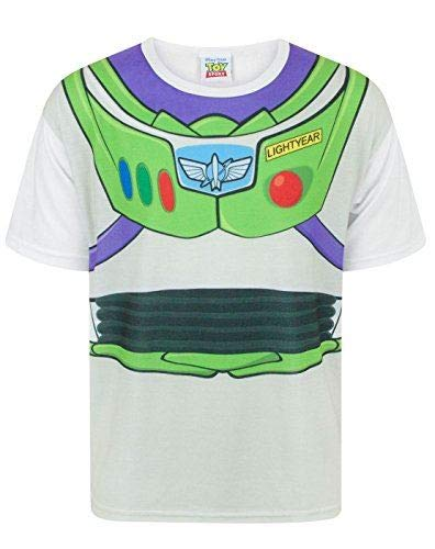 Toy Story Disney Buzz Lightyear Costume Boy's T-Shirt (3-4 Years)