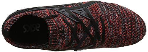 Knit Lo Carbon Kayano Asics Sneaker black nero Uomo Gel Carbon wqPTWxBXWO