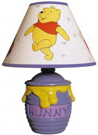 Amazon winnie the pooh hunny pot storytime lamp home kitchen winnie the pooh hunny pot storytime lamp aloadofball Gallery