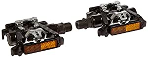 Commuter Road Bike Pedal Reversible Dual Sided Clipless Shimano SPD / Platform Pedals