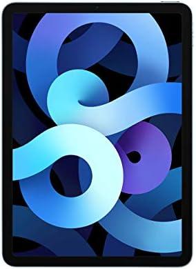New Apple iPadAir (10.9-inch, Wi-Fi, 64GB) - Sky Blue (Latest Model, 4th Generation) (Renewed)