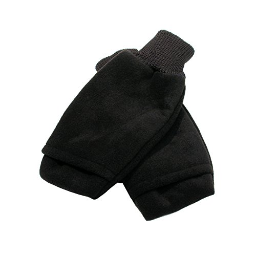 (Fleece Open-Ended Winter Pull-Up Mitts Size Large)