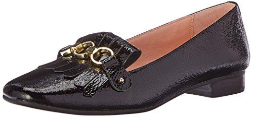 Kate Spade New York Vrouwen Karen Smoking Loafer Zwart Kreuk