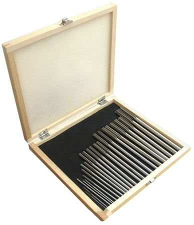 Chucking Reamer Sets, 1-13x0.5mm, 25pc