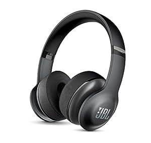 JBL Everest 300 Wireless Bluetooth On-Ear Headphones (Black)