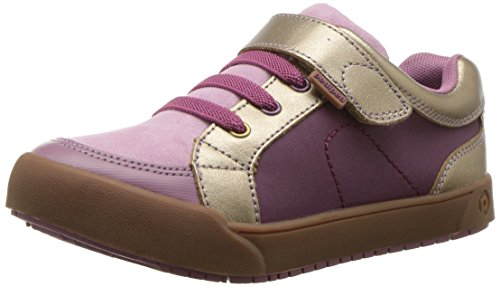 pediped Girls' Flex Dani School Uniform Shoe, Dusty Rose, 26 E EU Toddler (9-9.5 US)
