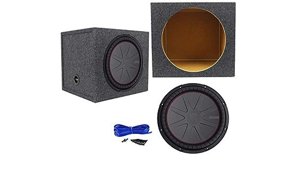 FidgetKute - Subwoofer de Audio para Coche de 12 Pulgadas y Caja de subwoofer sellada: Amazon.es: Coche y moto