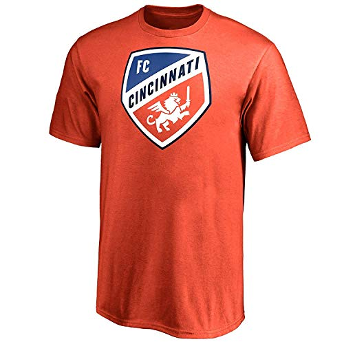 adidas FC Cincinnati Youth Orange Squad Primary Logo T-Shirt Medium
