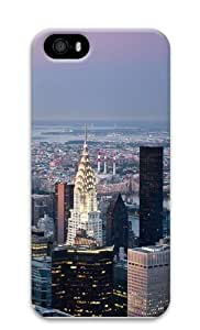 The Chrysler Building Polycarbonate Hard Case Cover for iPhone 5/5S 3D