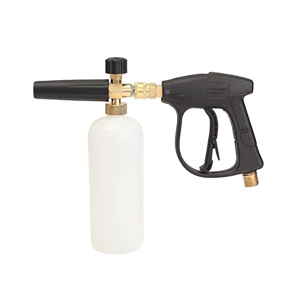 "SPAUTO High Pressure Washer Gun Jet 1/4"" Snow Foam Lance Cannon Car Cleaning Washer Bottle Set"