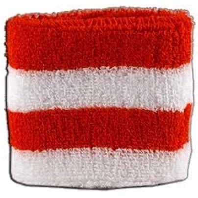 Digni Stripe red-white Wristband sweatband free sticker Estimated Price £3.95 -