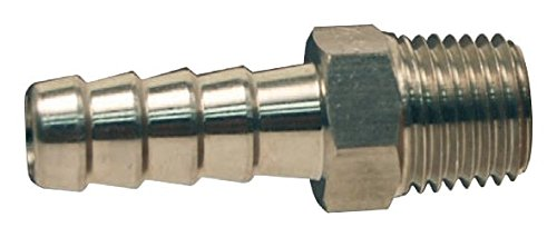 Dixon RN64 Stainless Steel 316 Hose Fitting, Insert, 1/2'' NPT Male x 3/4'' Hose ID Barbed