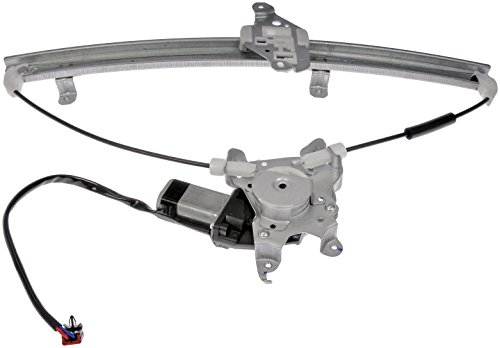 Dorman 741-904 Front Driver Side Power Window Regulator and Motor Assembly for Select Nissan Models