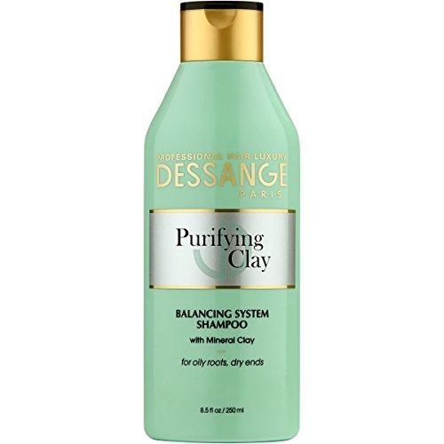(Dessange Purifying Clay Balancing System Shampoo, 8.5 Fluid Ounce)