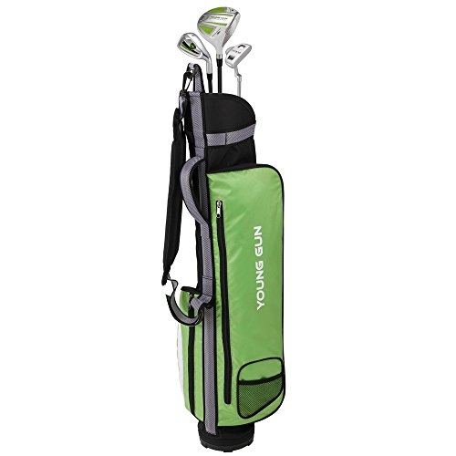 Young Gun ZAAP EAGLE GREEN Junior golf club Youth Set & bag for kids Ages - Green Golf Club Kids
